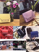 free shipping leather pig nose bag leather handbag summer small package inclined shoulder bag