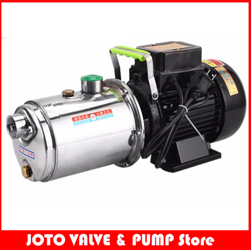 1.1kw Stainless Steel Screw Self-priming Water Pump 5m3/h Booster Water Pump stainless steel automatic rain water constant pressure jet self priming pump bjz100 with 0 75kw water pump for medium large home