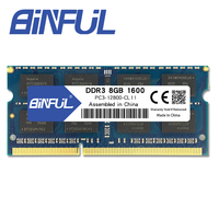 Binful Orignal New Brand DDR3 PC3L 12800 8GB 1600mhz For Laptop RAM Memory 204pin Notebook 1