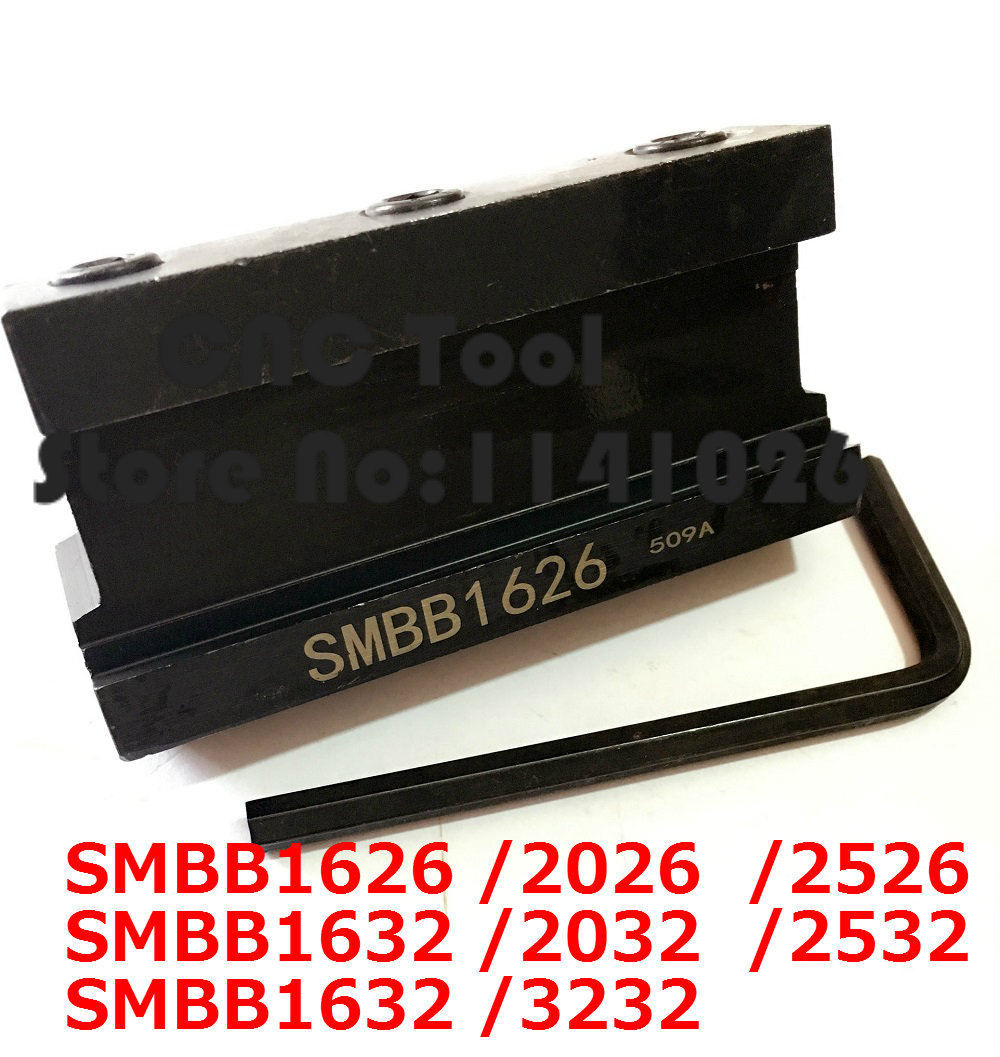 SPB32-3 Metal Cutter Blade Grooving Cut-Off Tool Holder For SMBB1632 2032 2532
