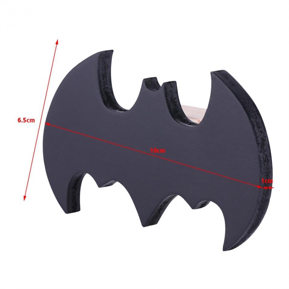 Wandhaken Kinderzimmer | Online Shop Multi Dual Use Nette Bat Form Holz Kleidung Wandhaken