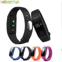 Voberry сердечного ритма Мониторы браслет Фитнес Flex Браслет для Android IOS PK xio Mi mi Группа 2 fitbits smart ID107 35