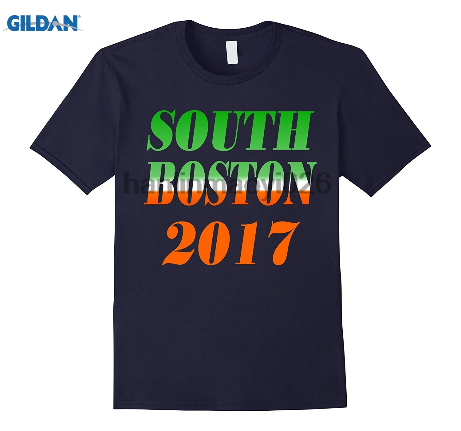 GILDAN South Boston 2018 Saint Patricks Day T-Shirt ...