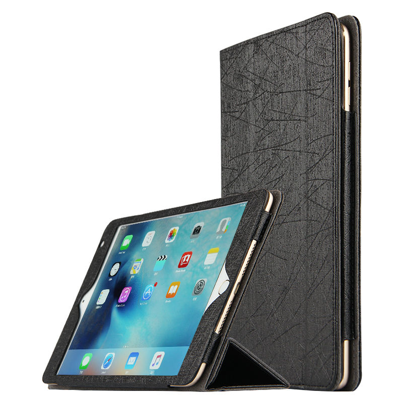 Case For Apple iPad Air 2 Cases Stand Smart cover Faux Leather Protectiv  For Apple iPad6 Tablet case 9.7 inch Protector Covers чехол для apple ipad air 2 smart case leather red