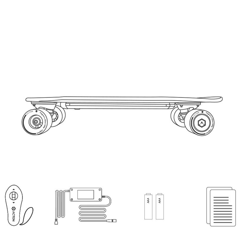 -Xiaomi-ACTON-Smart-Wireless-Remote-Control-Electric-Skateboard--14