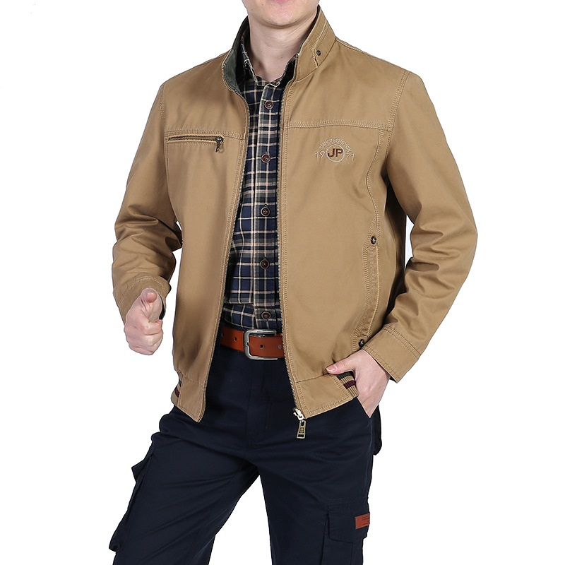 Spring New Jacket Men Military Casual Jackets And Coats Cotton Outerwear Men Both Sides Wear Windbreaker Jacket Chaqueta Hombre-in Jackets from Men's Clothing    1