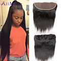 Best 8A Lace Frontal Brazilian Straight Frontal Brazilian Straight Ear to Ear Lace Frontals With Baby Hair 100 Human Hair