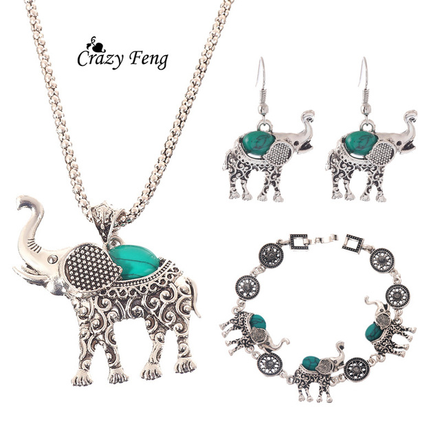 Green African Jewelry Sets...