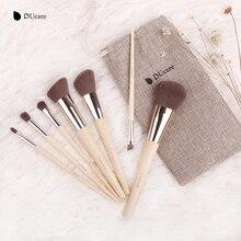 DUcare Makeup Brushes  7pcs Bamboo Foundation Eyeshadow Concealer Eyeliner Brushes Cosmetic kwasten make up