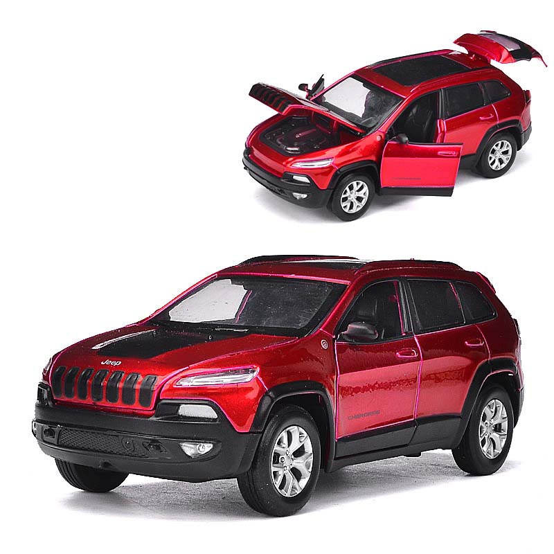 Suv Cars Page 7: 1:32 Jeep Grand Cherokee SUV Alloy Cars Model Toy Pull