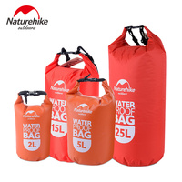 Naturehike Ultralight Zwemmen Tas Droog 4 Kleuren Outdoor Nylon Kajakken Opslag Drifting Waterdichte Rafting Bag 2L 5L 15L 25L