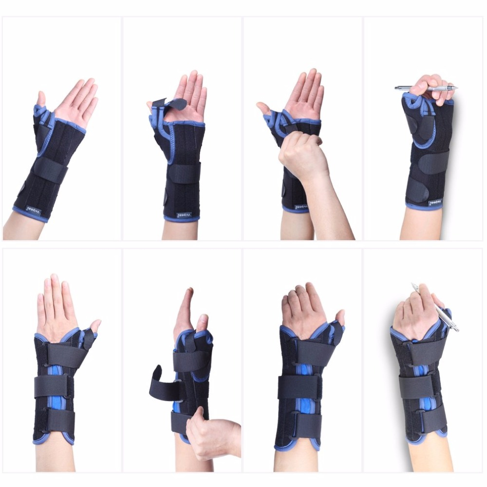 Adjustable Breathable Lightweight Wrist Brace Wrist Support with Thumb Limbs Immobilizer Stabilizing Arthritis Pain Relief NEW