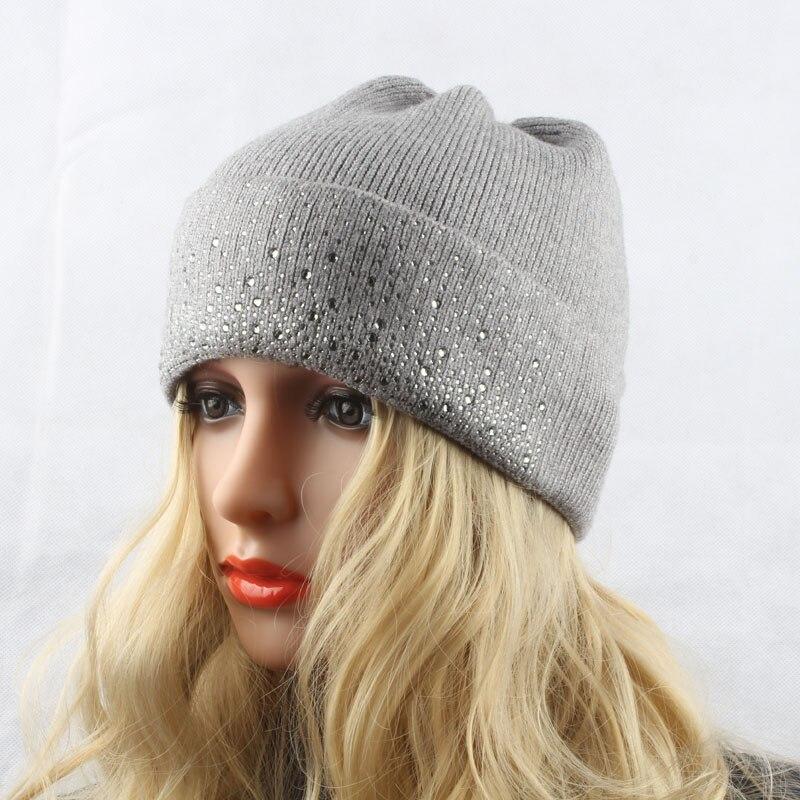Damen Wintermützen Gestrickte Wollmützen für Damen Warme Mütze - Bekleidungszubehör - Foto 5