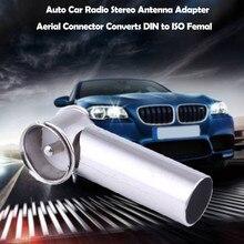 Горячие предложения Авто Радио Стерео антенна адаптер Коннектор для антенны преобразует DIN в ISO Прямая