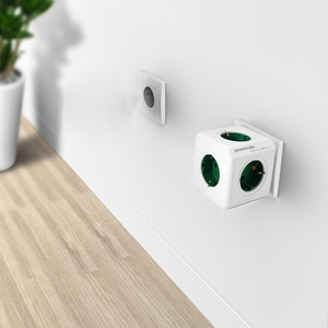 Image 5 - Allocacoc PowerCube Socket DE Plug 5 Outlets Power Strip Switch Adapter 16A 250V