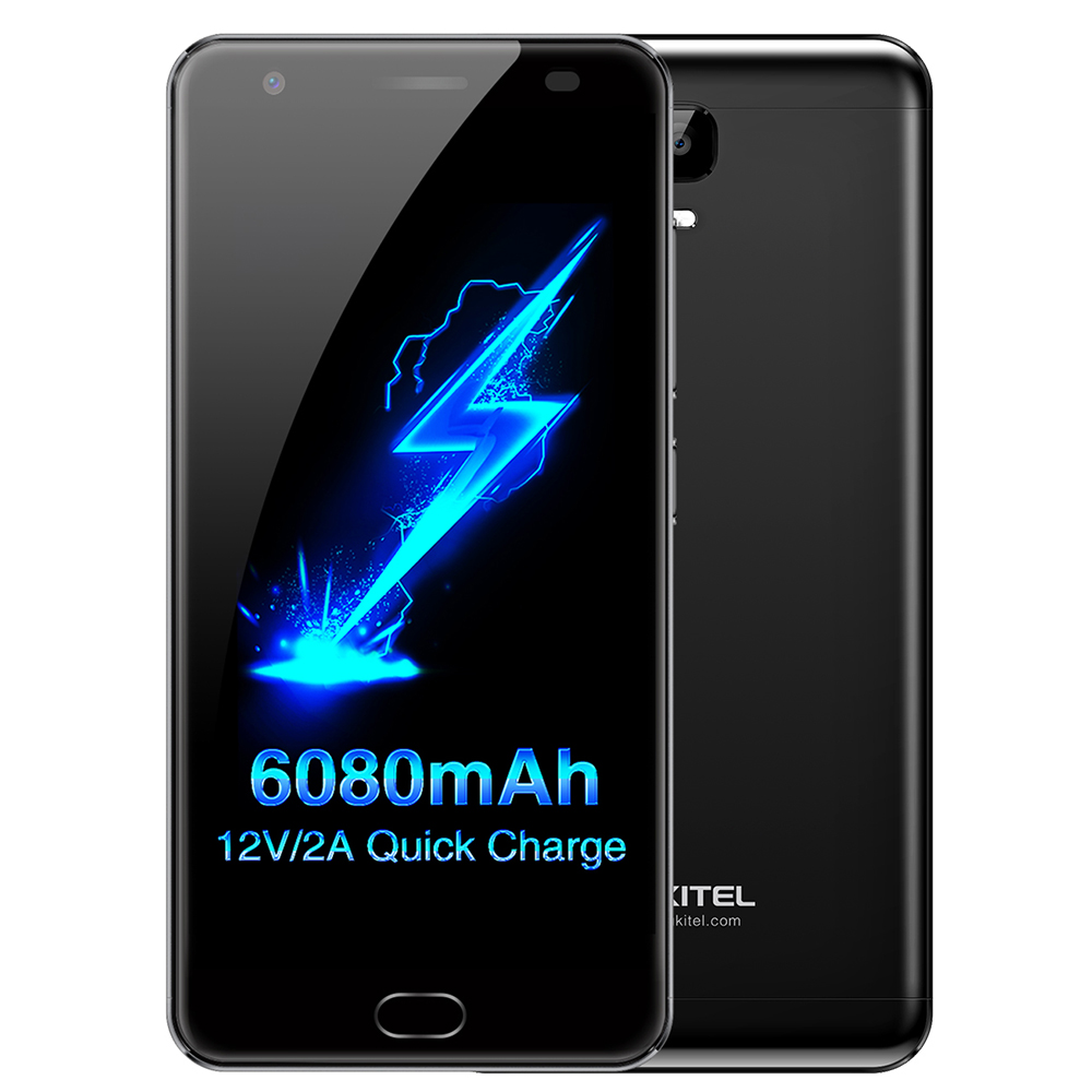 OUKITEL K6000 Plus Android 7.0 5.5 Inch 4G Smartphone 4GB 64GB RAM MTK6750T Octa Core 1.5GHz 8.0MP+16.0MP Mobile Phone Quick