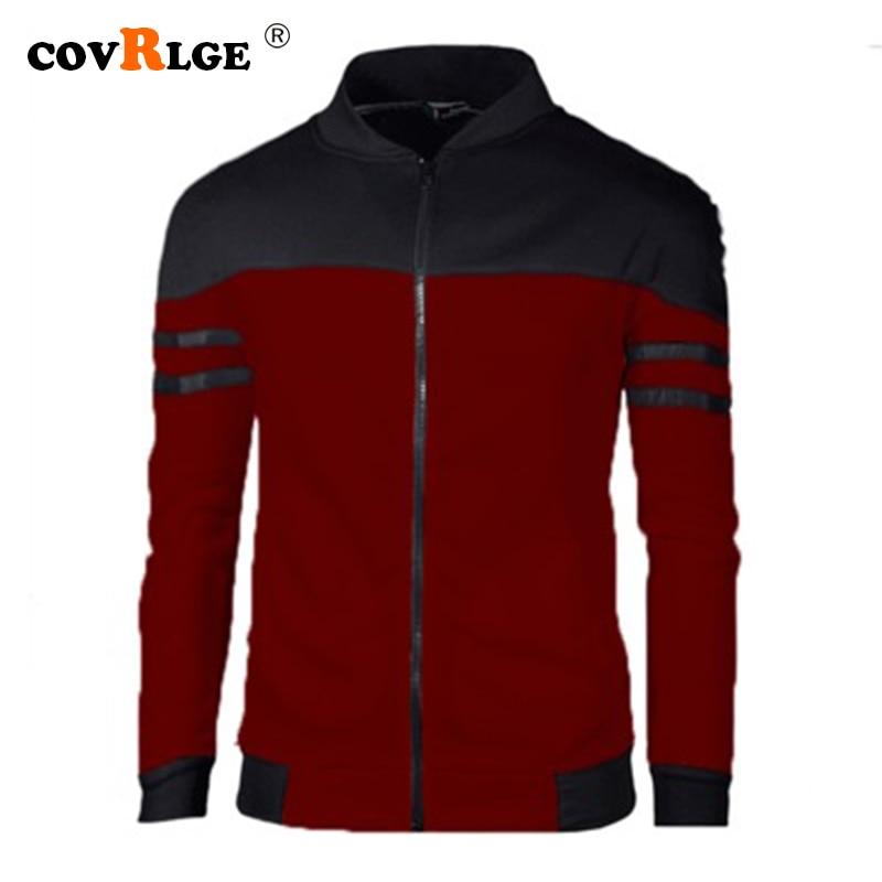 Covrlge Men Hooded 2019 New Arrival Sweatshirts Slim Personality Fashion Hoodies Soft Fit Casual Streetwear Hoodie Male MWW162