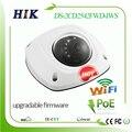 Hikvision atualizável 4mp 2048x1536 melhor do que 1080 p mini dome câmera de rede wi-fi ip ds-2cd2542fwd-iws poe cctv sistema