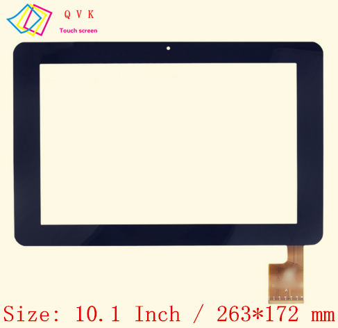 Black 10.1 Inch For Sanei N10 Ampe A10 Tablet Pc Capacitive Touch Screen Glass Digitizer Panel Free Shipping TPC0323 VER1.0