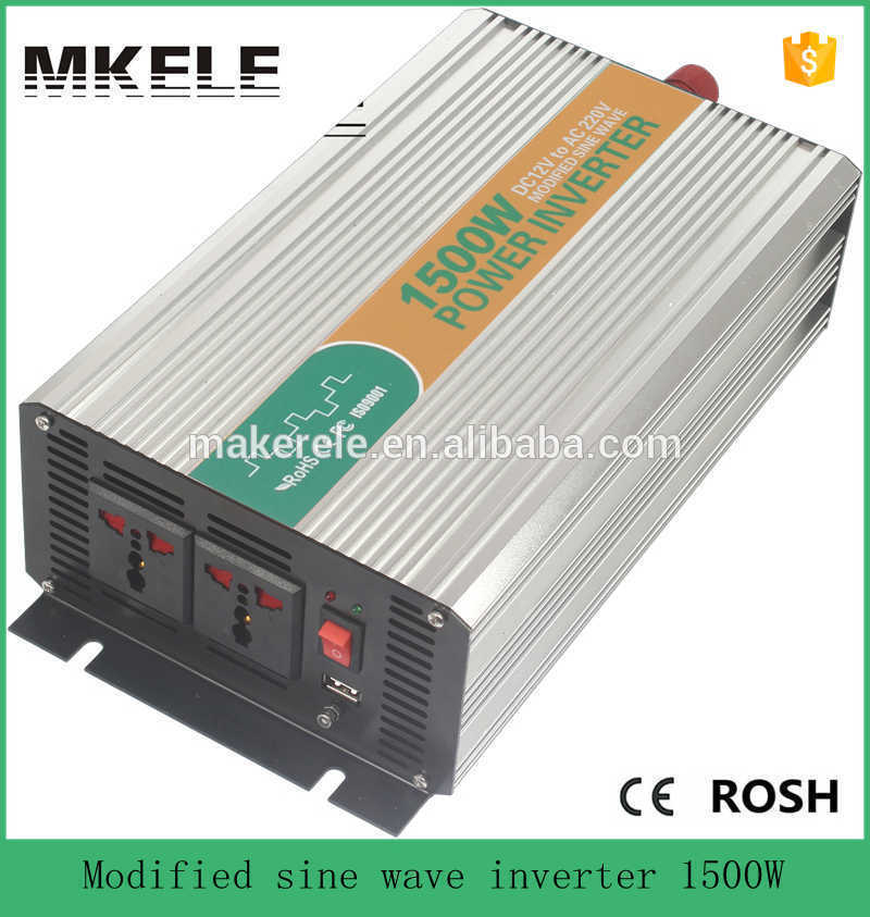 цена на MKM1500-121G high efficiency modified sine wave 110vac micro inverters power inverter 1500w inverter distributor 12vdc input