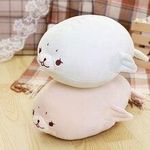 80 Cm Soft Seal Plush Toy Stuffed Pillow Cute Cartoon Animal Cushion Doll For Kids Childrens Gift