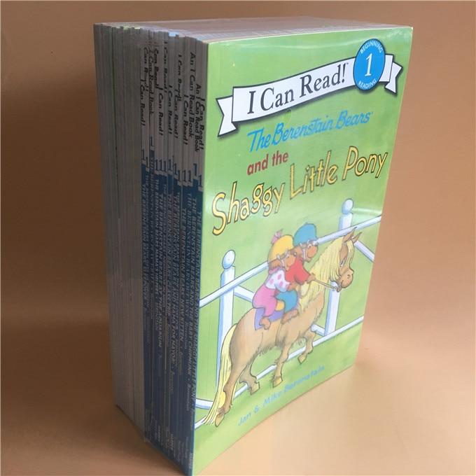 25 권의 책/세트 나는 파닉스 책을 읽을 수있다 나의 첫번째 berenstain 곰 아이들을위한 영어 그림 이야기 책 아이들 독서 책의  그룹 2