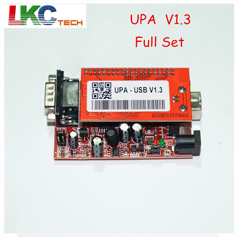 2017 лучшее качество УПА USB программер полный комплект В1.3 полный адаптеры УПА USB УПА чип тюнинг инструменты ЭКЮ программист последовательный программист