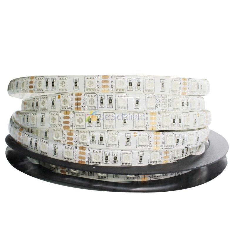 DC12V 5M / Lot 5050 SMD 300 Leds RGB Color Epoxi Resina IP65 - Iluminación LED