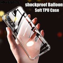 Transparent Shockproof Soft TPU Phone Case For Huawei Mate 20 P20 P30 Lite Pro Case Anti-Knock Phone Cover on Honor 8X 9 10 Case(China)