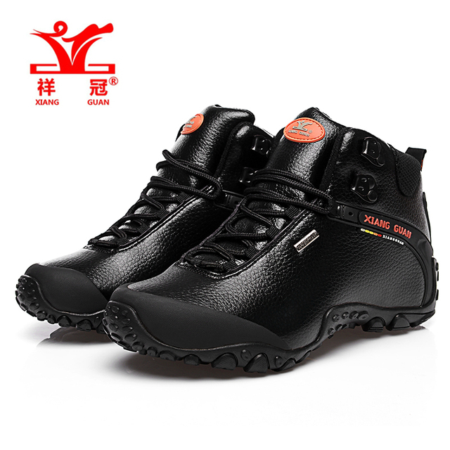 Xiangguan uomo scarpe da trekking scarpa da tennis all aperto arrampicata  in pelle di alta 6c151677a6c