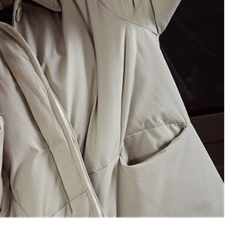 Lâche 2018 Manteau Vers Canard Longues Beige Veste Coton Bas Chaud En Femmes Duvet Parkas Rembourré Mode De Parka black Lyl284 Occasionnel Blanc Hiver Femelle Le Nouvelle vqHUwXx6H