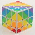 Nova YongJun YJ Rainbow Desigual 56mm 3 camadas Fundido Revestido adesivos Velocidade Suave Magic Puzzle Cubos Brinquedos Educativos Para Crianças-45