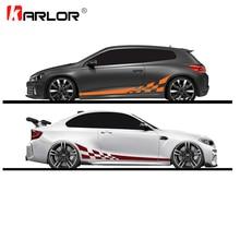 2 шт./лот, 220x25 см, наклейки для автомобиля, сделай сам, с обеих сторон, гоночные полосы, камуфляжные изделия для автомобилей, виниловая пленка для автомобиля, аксессуары для автомобиля