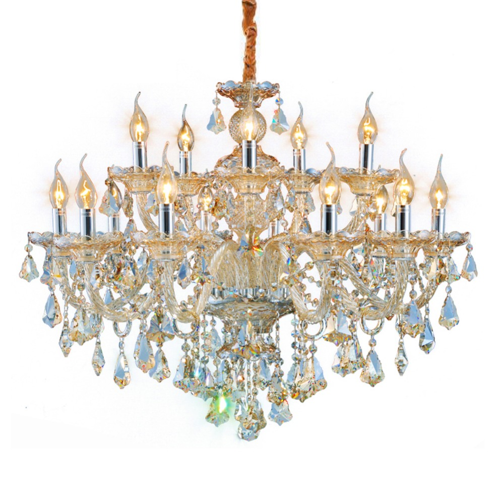 Us 424 15 Off Modern Crystal Chandeliers Lighting Fixtures Dining Room Bedroom Chandelier For Hall Foyer Light Fixture In
