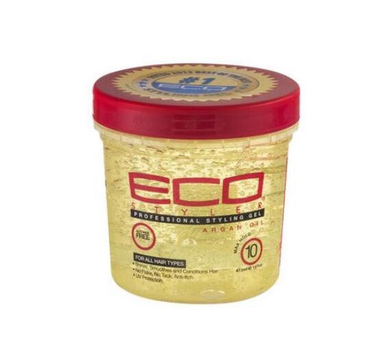 Eco hair styling gel with argon oil olive oil hair styling wax 473ml (16oz)Moisturizing Hair free shipping hair styler styling gel oz 16 super protein eco styling hair gel 473ml