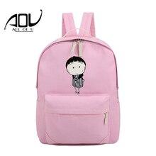 Женщины рюкзак для школы для девочек-подростков винтажная стильная женская сумка рюкзак женский розовый печати высокое качество Mochila Feminina