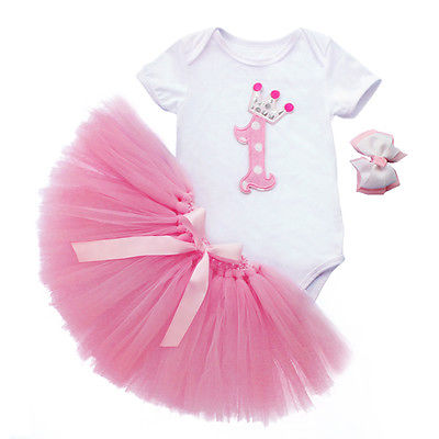 Online Buy Wholesale 1st birthday party dresses baby from China ...