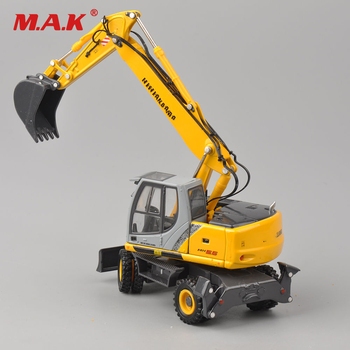 collection diecast model car 1/50 scale diecast construction hydraulic excavator model truck model kids toys cheap gifts wooden hydraulic excavator model handmade scientific experiments steam