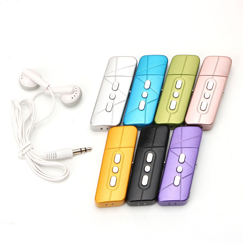 StoßFest Und Antimagnetisch Unterhaltungselektronik Tragbares Audio & Video Ootdty 3,5mm Usb Digital Mp3 Musik-player Unterstützung 32 Gb Tf Karte Mit Kopfhörer Wasserdicht