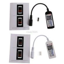 DC12V Светодиодный Мини wifi RGBW контроллер Bluetooth IOS/Android мобильный телефон беспроводной Apr и Прямая поставка