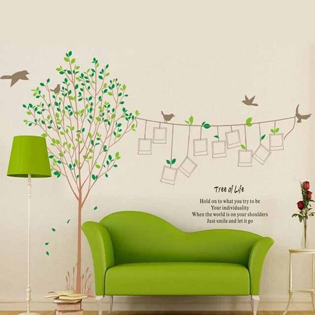 Diy Home Family Tree Wall Decal Sticker Large Vinyl Photo Picture