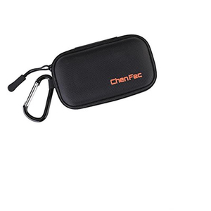 Image 3 - MP3 Player Case Digital MP3 Storage Case/Bag Data Cable Package Zipper Bag Portable Zip Lock Organizer Case with Metal Carabiner