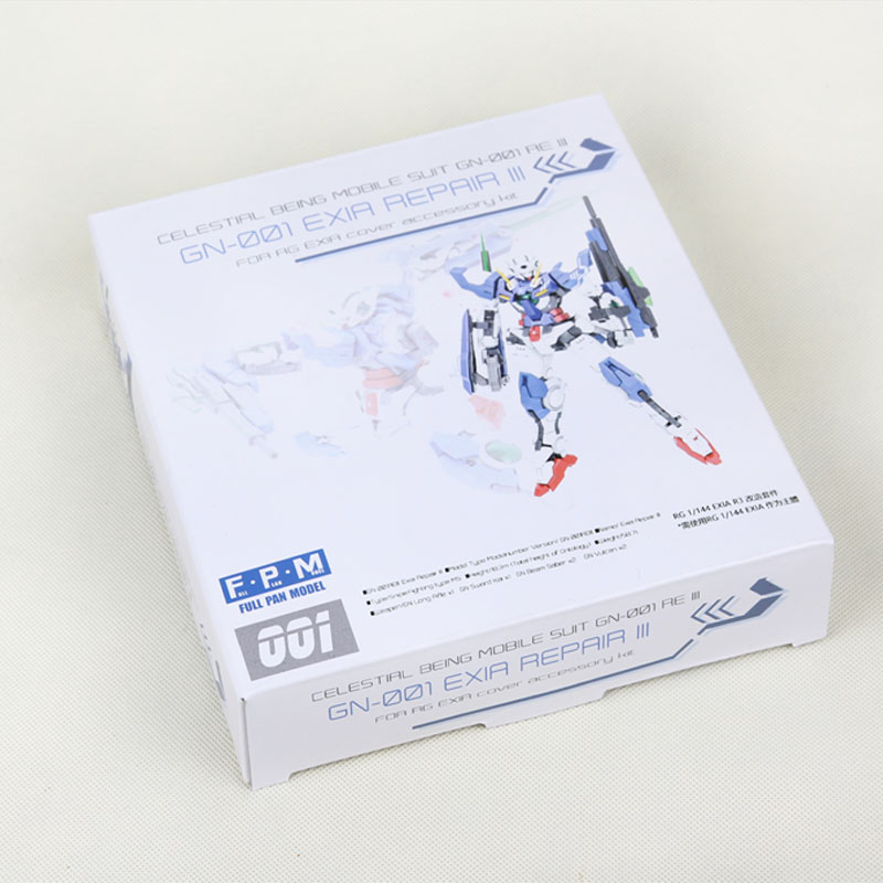 ФОТО FPM Cover Accessory Kit For RG 1/144 EXIA Exusiai Gundam R3 MB Version Robot Action Assemble Figure Models Gift Collecion