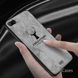 Классическая ткань олень ткань матовый чехол для Huawei Honor 8 Lite 9 10 10 играть V9 V10 Nova 2 S Nova 2 Lite Y6 Y7 Y5 Prime 2018
