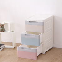 New design storage drawer for clothing big organizer box kitchen organizador small cabinet for kid's toys
