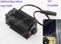 445nm 2500mW 2 5W Blue Laser Module With Heatsink For DIY Laser Engraver CNC Laser Module