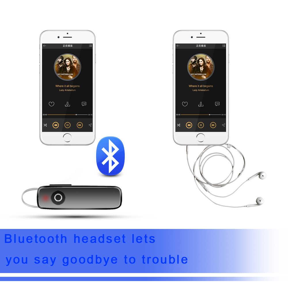 P165 biznesowe słuchawki z bluetooth bezprzewodowe sportowe słuchawki stereo z mikrofonem słuchawki douszne do słuchawek Smart Phone