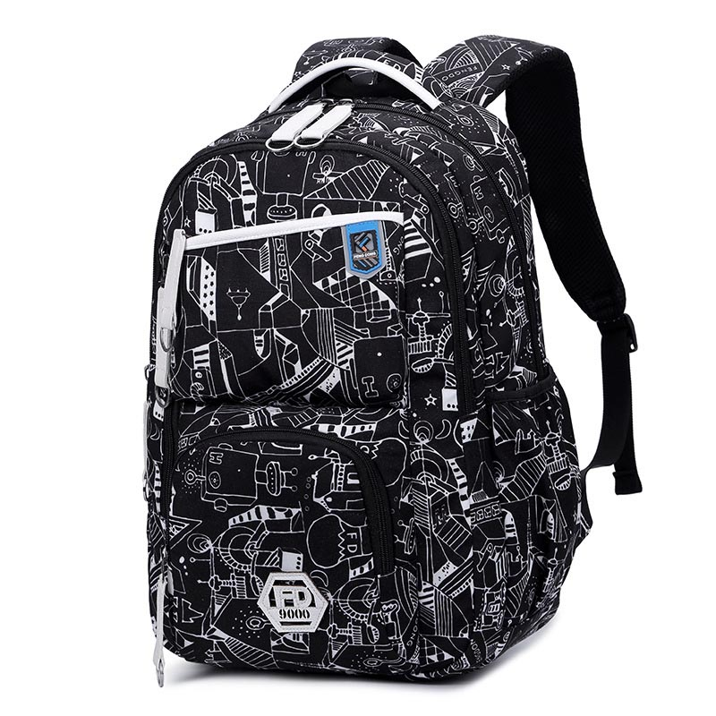 New 2018 Oxford Durable School Backpack For Boys Middle School Bookbag Water Resistant College Laptops Backpack Men Travel Bag