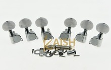 High quality Chrome w/ Pearl Buttons Guitar Tuners Tuning Keys for Acoustic Electric Guitars