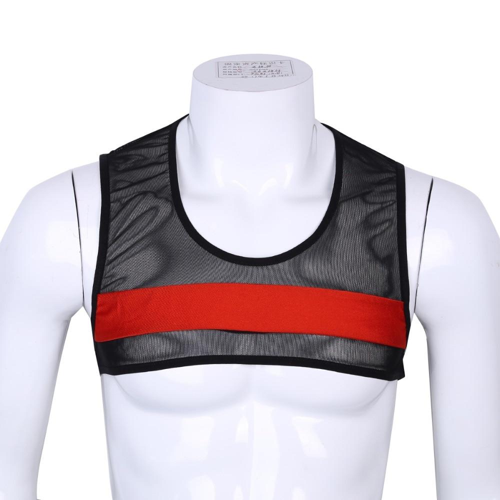 07fc798ca4e56c men s sexy tanks tops Male underwear Gay clothing mesh net Fashion man  clothes Undershirts men sleeveless vest fishnet tank top